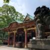 根津神社は本殿前がすごかった!